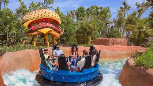 Gia đình bạn sẽ có những cuộc sum vầy bên nhau tại công viên nước, Dubai mùa thu
